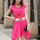 DRESS SIFON KOREA CANTIK