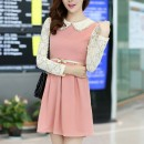 MINI DRESS KOREA LENGAN PANJANG
