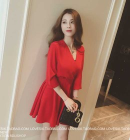 JUAL MINI DRESS NATAL TERBARU 2015