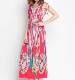 LONG DRESS LENGAN BUNTUNG TERBARU FASHION