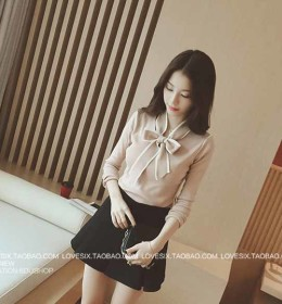 BLOUSE PITA LENGAN PANJANG SIMPLE 2016 TRENDY