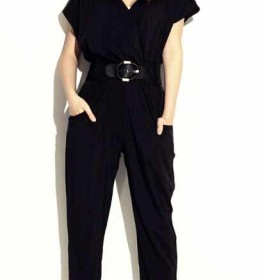 JUMPSUIT PANJANG HITAM IMPORT TERBARU 2016 FASHION