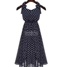 jual-long-dress-polkadot-simple-cantik-2016