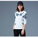 baju-atasan-putih-motif-bunga-2016-modis
