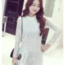 jual-dress-putih-brokat-cantik-online
