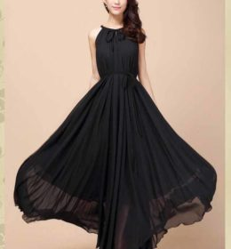 jual-long-dress-pesta-hitam-elegant-2016