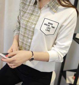 kemeja-simple-wanita-modis-2016-korea