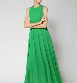 LONG DRESS PESTA LENGAN BUNTUNG 2018