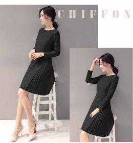 Dress Long Dress Wanita Korea Model Terbaru Jual Murah